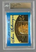 2017 Leaf Cut Signatures History Of Baseball Charlie Gehringer Auto 'd 13/52