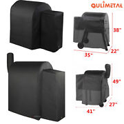 Waterproof Full Length Grill Cover For Traeger Bac374 20 Series Bac379 22 Series