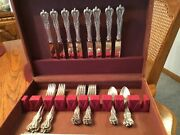 Old Colonial By Towle Sterling Silver Flatware Service For 8 Set 32 Pieces