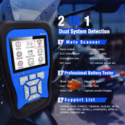 New M100 Handheld Motorcycle Auto Scanner Fault Code Reader Diagnosis Tool Home