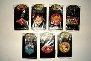 Disney Auctions Mickey Mouse Intl Hotels Series Le 100 Pin Complete Set 7 Pins