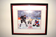 Warner Brothers Limited Edition Cell The Great Ones Wayne Gretzky Signed Le