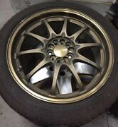 Volk Racing Rays Ce28n 17x7.5 Et43 5x100 Without Tires Brembo Ok