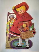 Vintage Red Riding Hood Jigsaw Puzzle 50 Large Pieces Hg Toys