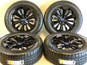 20 20 4 Oem Factory Ford Fit F-150 King Ranch Gloss Black Wheels Rims Tires