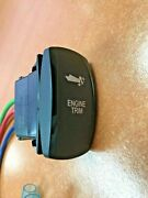 Engine Trim Switch With Wire Leads Black V8d1soob Remote Fits Outboards I/os