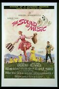 The Sound Of Music Julie Andrews 1965 1-sheet Linenbacked