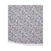 Baie From Yves Delorme, France- Organic Cotton Flat Sheet In Landscape Pattern