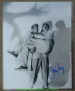 Jerry Lewis Autographed Still Photo Rare 11x14 Signed In Sharpie Dean Martin