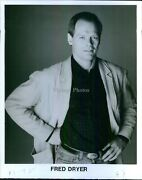Photo Actor Fred Dryer Radio Host Screenwriter Former Nfl Defensive End 8x10