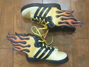 New Jeremy Scott X Adidas Flames Sneakers Shoes Toddler Kids Size 5.5k Rare