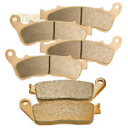 F+r Sintered Brake Pads For 2009 2010 2011 Honda Nsa 700 A9 Dn-01 Motorcycle