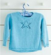 Knitting Pattern For Baby/girls Jumper - Pattern From 0 Mth To 4 Yrs C64