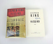 Stephen King Signed Autograph 11/22/63 1st Edition Hardcover Book