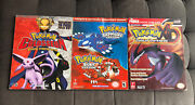 Lot Of 3 Pokemon Nintendo Game Colosseum, Saphire Ruby Version, Gale Of Darkness