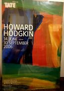 Howard Hodgkin Night And Day Tate 2006 Poster Rare Item Original Limited Edition