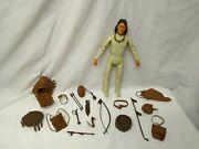 Vintage 1967 Marx Best Of The West Geronimo Indian Action Figure W Accessories