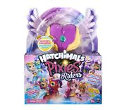 Hatchimals Pixies Riders Lilac Luna Pixie And Swanling - Hot Toy Fast Shipping