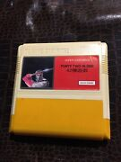 Nes Gold Game Tv Game Cartridge Super Cartridge Forty Two In One Games Most Rare