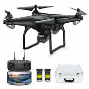 Drone With 4k Camera Rc Quadcopter For Adult Portable Case Gps Auto Return