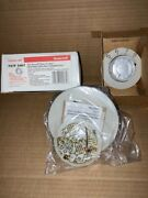 Honeywell T87f 3467 Round Easy Read Heating Cooling Thermostat