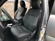2016-2020 Toyota Tacoma Double Cab Black Leather Seat Covers Replacement Kit