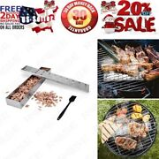 Cmyk Smoker Box For Bbq Grill Wood Chips,charcoal And Gas Barbecue Meat Smoked ...