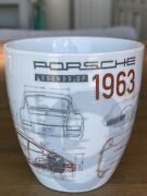 Limited Edition Porsche Coffee Cup Mug Legends Of 1963 901 911 Collection 18