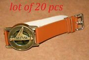 Antique Steampunk Brass Wrist Compass And Sundial-watch Collectible Best For Gift