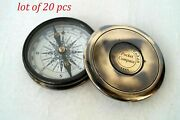 Vintage Solid Marine Directional Compass Collectible Gift