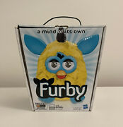 Furby Lighting Zap Yellow Teal In The Box 2012 Hasbro Interactive Toy - Rare