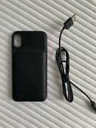 Mophie Juice Pack Access Apple Iphone Xs Black Battery Power Bank Cover Case