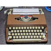 Beautiful Dark Chocolate Powder Coated Brother Charger 11 Typewriter Works Grea