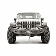 Fab Fours Jl18-b4651-1 Front Lifestyle Winch Bumper For 18-21 Jeep Wrangler New