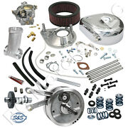 Sands Cycle 84 Stock Bore Stroker Hot Set Up Engine Motor Kit - 1955-1964 Panhead