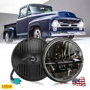 Newest 105w 7round Led Headlight High/low Sealed Beam Bulb For Ford Pickup Mpv