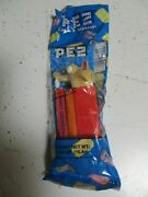 New Candy Scrat Pez Dispenser From Storage Ice Age Wolf Long Nose Spiky Teeth