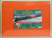 Lionel 99001 Mickeyand039s Holiday Express Christmas Train Set - O-gauge Fac Sealed