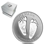 2021 Canada 1/2 Oz Silver Welcome To The World Baby Gift Coin .9999 Fine W/box