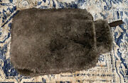New Faux Lynx Fur Brown Restoration Hardware Hot Water Bottle And Cover