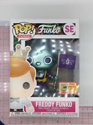 Freddy Funko Teal Robot Pop 2000 Pcs-2018 Sdcc Fundays Convention Exclusive F03