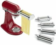 Kitchenaid Ksmpdx Stand Mixer Attachments Pasta Roller And Cutter Set, One Size