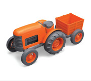 Orange Tractor Green Toys Recycled Safe And Non-toxic Materials Huge Hit And Fun
