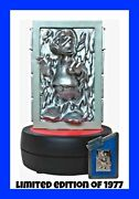 Disney Star Wars Weekends 2014le Donald Duck As Han Solo In Carbonite With Pin