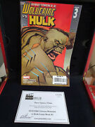 Extremely Rare Disney Once Upon A Time Original Screen Used Hulk Comicbook Prop