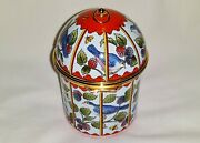 Halcyon Days Music Box Bird Cage Mozartand039s Magic Flute Orig. Pkg And Ppw