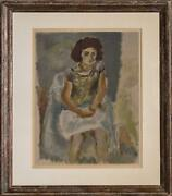 Jules Pascin Nana Lithograph On Arches Stamp-signed And Numbered In Pencil