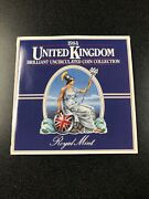 1984 United Kingdom Brilliant Uncirculated Coin Collection 8 Coin Bu Mint Set