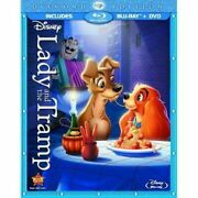 Lady And The Tramp Blu-ray/dvd, 2012, 2-disc Set, Diamond Edition