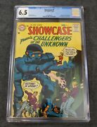Showcase 7 1957 Cgc 6.5 Dc Comics Challengers Of The Unknown